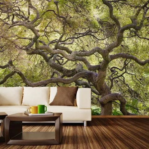 3d Beach Wallpaper For Walls 26 Photo Accent Walls That Will Blow Your Mind Digsdigs