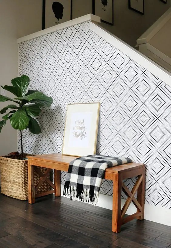 3d Wallpaper For Living Room Wall 31 Wallpaper Accent Walls That Are Worth Pinning Digsdigs