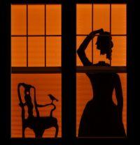 26 Creative Halloween Window Decor Ideas - DigsDigs