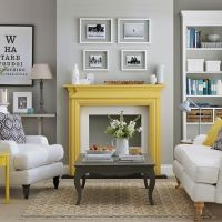 29 Stylish Grey And Yellow Living Room Dcor Ideas - DigsDigs