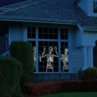 26 Creative Halloween Window Decor Ideas - DigsDigs