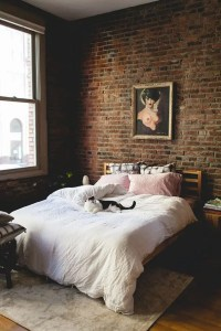 30 Trendy Brick Accent Wall Ideas For Every Room - DigsDigs