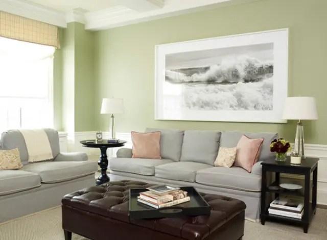 30 Green And Grey Living Room Décor Ideas - DigsDigs - grey sofa living room ideas