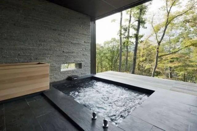 30 Peaceful Japanese Inspired Bathroom Decor Ideas Digsdigs