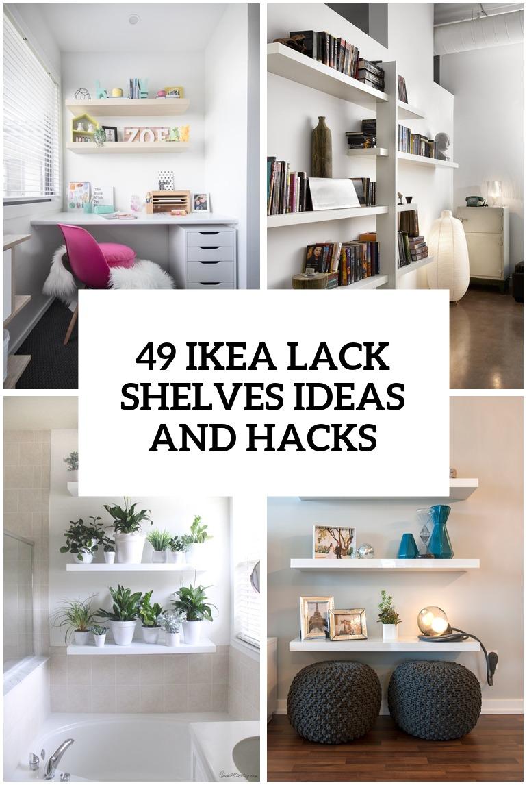 Ideas For Ikea Lack Shelves Nazarmcom
