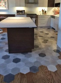 36 Eye-Catchy Hexagon Tile Ideas For Kitchens - DigsDigs