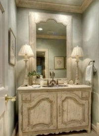 29 Vintage And Shabby Chic Vanities For Your Bathroom ...