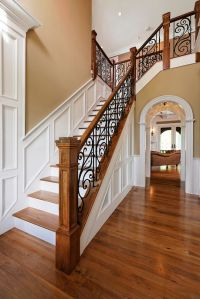 33 Wrought Iron Railing Ideas For Indoors And Outdoors ...