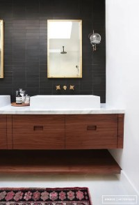 36 Floating Vanities For Stylish Modern Bathrooms - DigsDigs