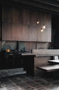 33 Masculine Kitchen Furniture Ideas That Catch An Eye ...