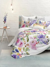 31 Beautiful And Romantic Floral Bedding Sets - DigsDigs