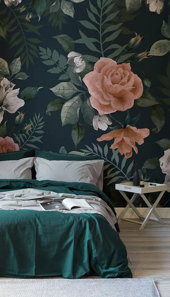 3d Wallpaper For Kid Bedroom 30 Stylish Ways To Use Floral Wallpaper In Your Home