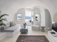 Cave-Like Villa in Greece With Sculptured Living Spaces ...