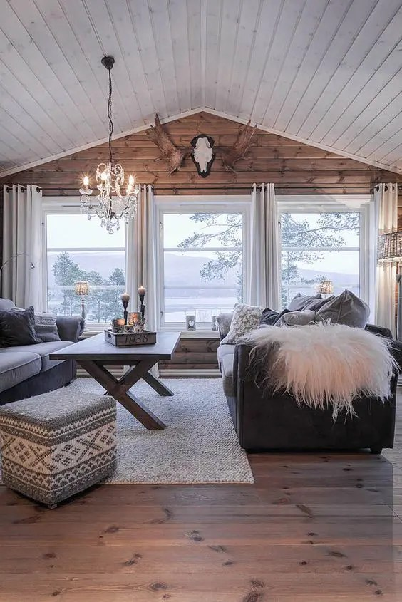 25 Inviting Living Rooms With Wood Walls - DigsDigs - wood wall living room