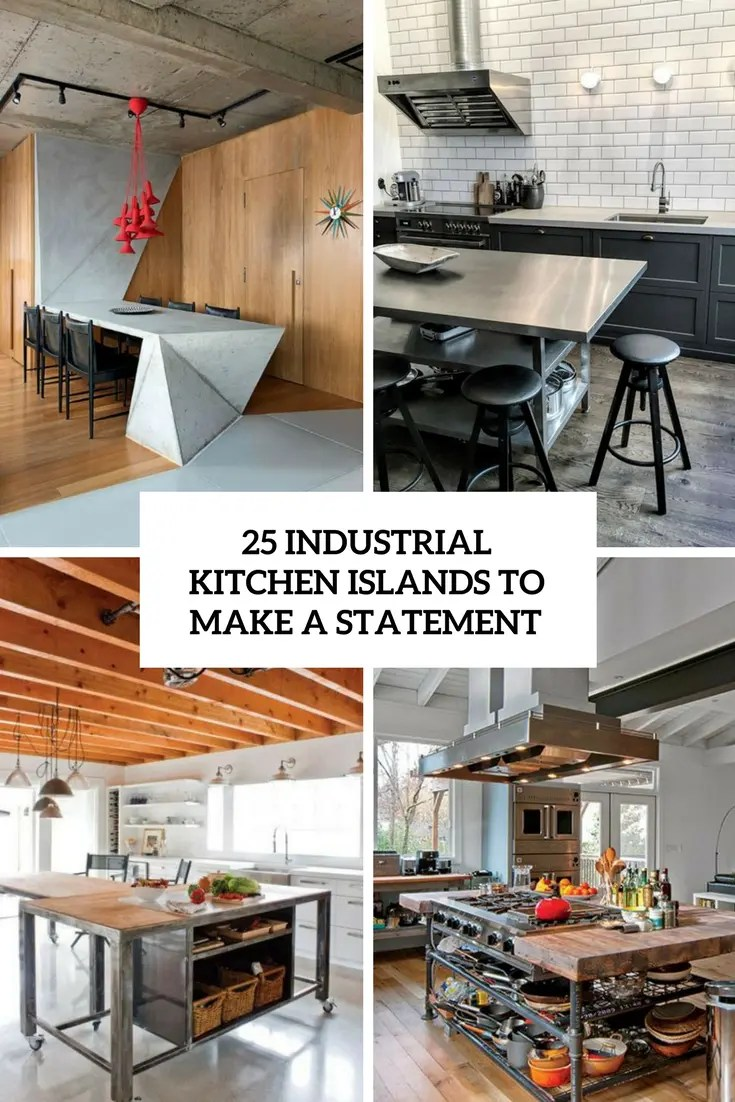 Fullsize Of Industrial Kitchen Islands