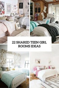 22 Chic And Inviting Shared Teen Girl Rooms Ideas - DigsDigs