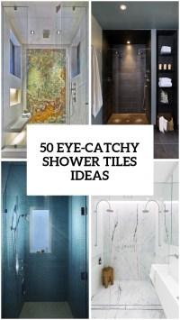 41 Cool And Eye-Catchy Bathroom Shower Tile Ideas - DigsDigs