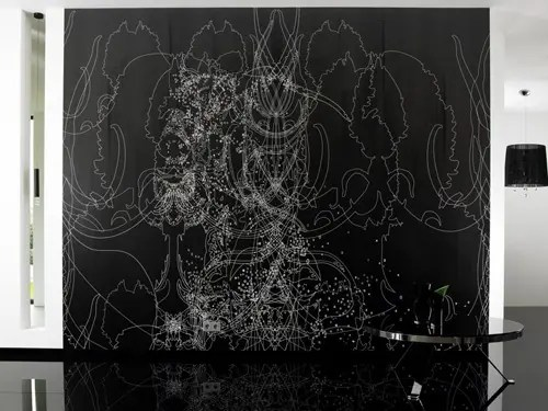 3d Crazy Wallpaper Amazing Black And White Wallpapers With Cool Patterns From