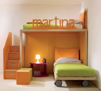 Cool and Ergonomic Bedroom Ideas for Two Children ~ Home