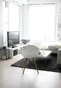 30 Adorable Minimalist Living Room Designs - DigsDigs