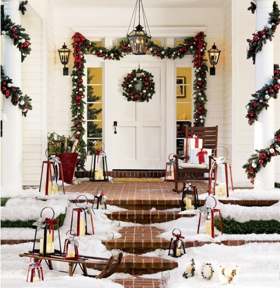 95 Amazing Outdoor Christmas Decorations - DigsDigs - christmas decorations outside