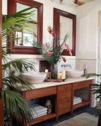 42 Amazing Tropical Bathroom Dcor Ideas - DigsDigs