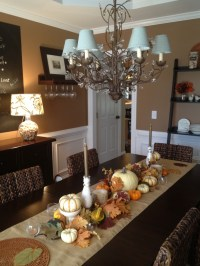 30 Beautiful And Cozy Fall Dining Room Dcor Ideas | DigsDigs