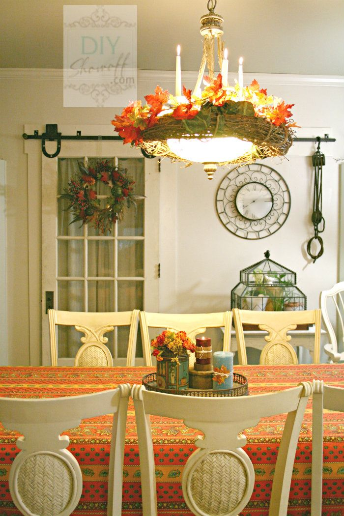 Fall Decor Wallpaper 30 Beautiful And Cozy Fall Dining Room D 233 Cor Ideas Digsdigs