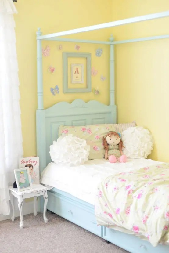 Teenage Girl Wallpaper Designs 40 Beautiful And Cute Shabby Chic Kids Room Designs Digsdigs