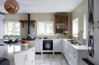 Beautiful Kitchen Design With Marble And Natural Wood ...