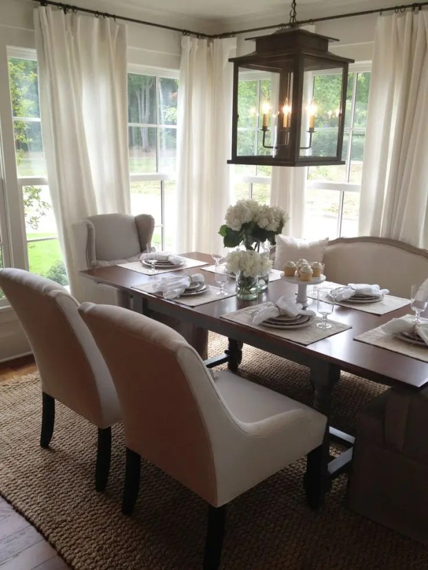 beautiful neutral dining room rooms