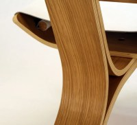 Aesthetically Brilliant Chair Made Of Bent Plywood And ...