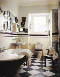 71 Cool Black And White Bathroom Design Ideas - DigsDigs