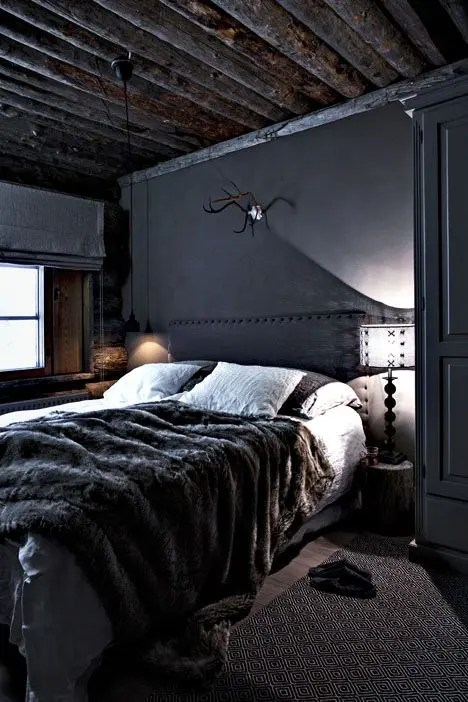 33 Stylish Masculine Headboards For Your Mans Cave