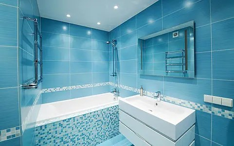 67 Cool Blue Bathroom Design Ideas - DigsDigs - blue bathroom ideas
