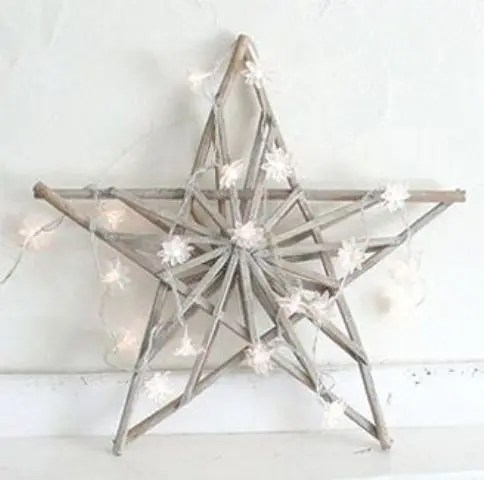 Christmas Decorating With Stars 43 Gorgeous Ideas - DigsDigs - christmas star decorations