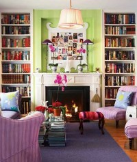 33 Colorful And Airy Spring Living Room Designs - DigsDigs