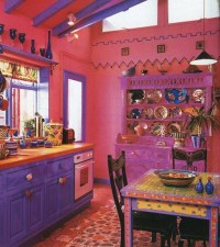 49 Colorful Boho Chic Kitchen Designs - DigsDigs