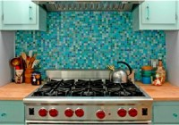 36 Colorful And Original Kitchen Backsplash Ideas | DigsDigs