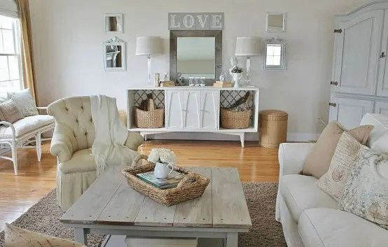 45 Comfy Farmhouse Living Room Designs To Steal - DigsDigs - farmhouse living room furniture