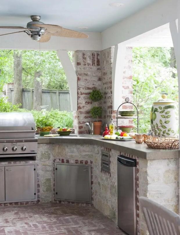 cool outdoor kitchen design ideas