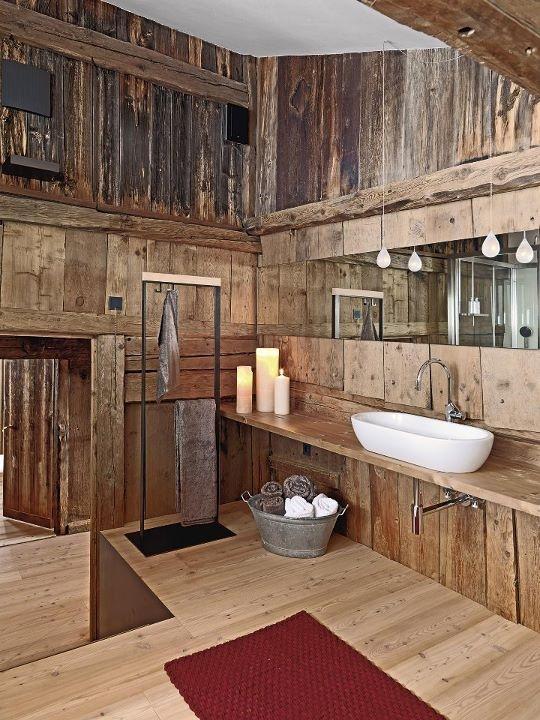 39 Cool Rustic Bathroom Designs - DigsDigs - small rustic bathroom ideas
