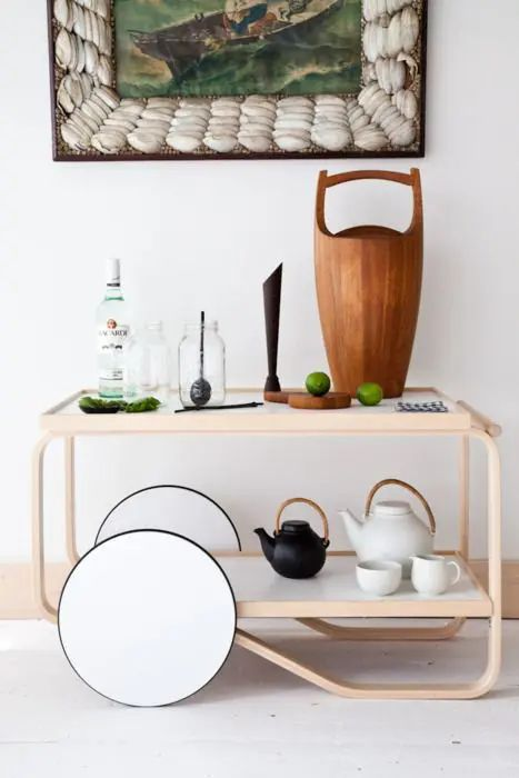coffee ceremony furniture collection inspired by japanese