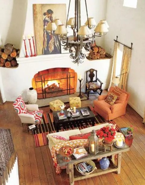 29 Cozy And Inviting Fall Living Room Dcor Ideas