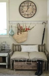 27 Cozy And Simple Farmhouse Entryway Dcor Ideas - DigsDigs
