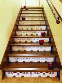 35 Cozy Fall Staircase Dcor Ideas - DigsDigs