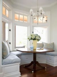 40 Cute And Cozy Breakfast Nook Dcor Ideas - DigsDigs