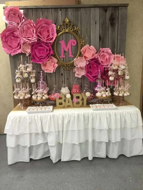 31 Cute Baby Shower Dessert Table Dcor Ideas
