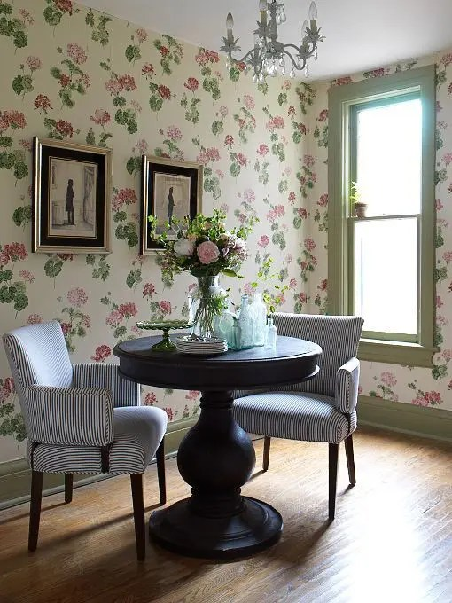 Black And White Wallpaper Bedroom Ideas Decorating With Botanical Wallpaper 31 Beautiful Ideas