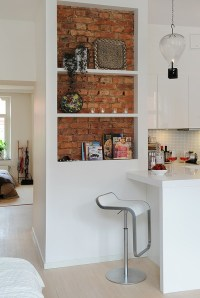 69 Cool Interiors With Exposed Brick Walls - DigsDigs